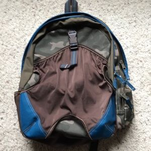 GAP kids camouflage backpack sports bag